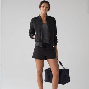 Lululemon On The Fly Shorts NWOT Size 2 Black